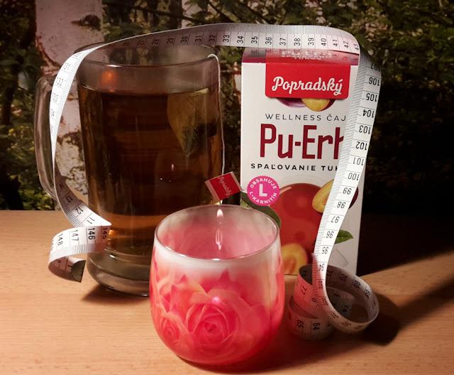 Popradský Wellness čaj Pu-Erh - Spaľovanie tuku