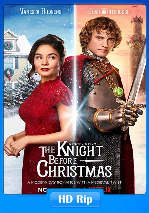 The Knight Before Christmas 2019 720p WEBRip x264 | 480p 300MB | 100MB HEVC