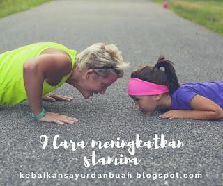 cara untuk bisa meningkatkan stamina