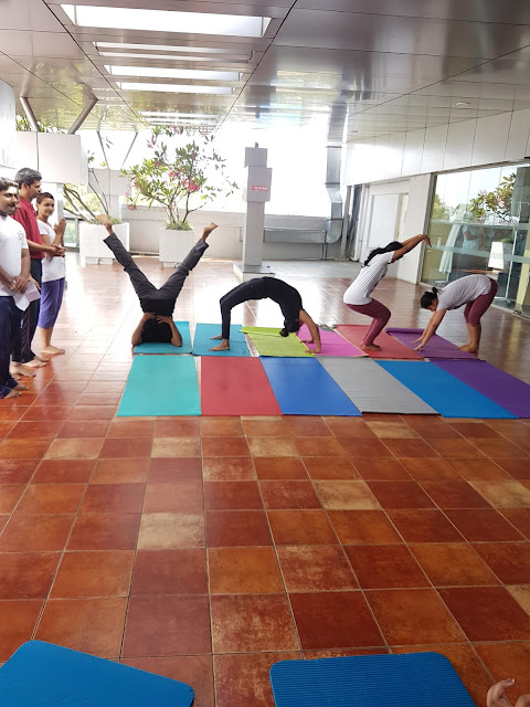 Columbia Asia Referral Hospital – Yeshwanthpur Celebrates International Yoga Day 2017