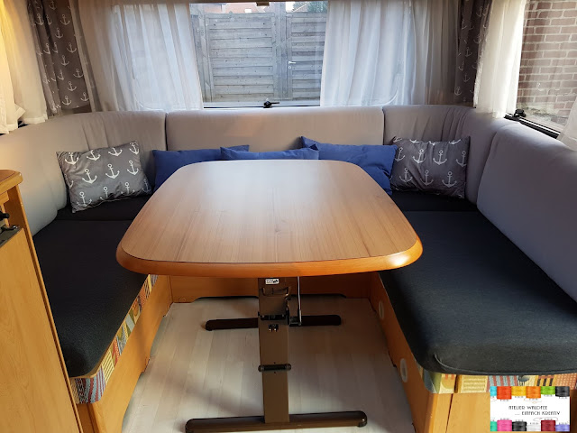atelier waldfee diy neue polsterbez ge f r den wohnwagen. Black Bedroom Furniture Sets. Home Design Ideas