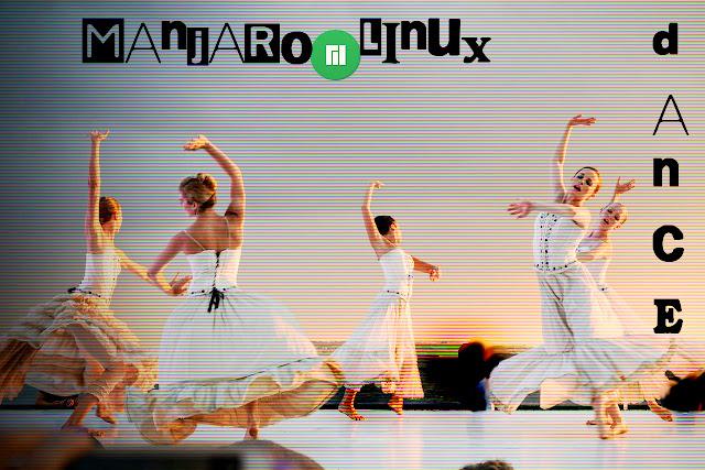 Manjaro Linux Girls Dance (versão 2)