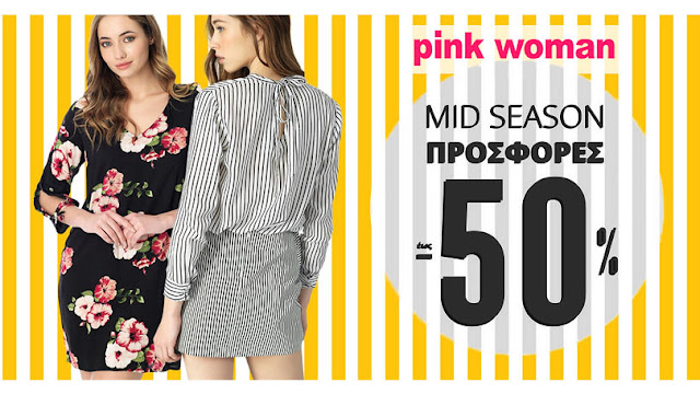 Mid Season Sale - Pink-Woman