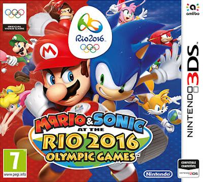Mario y Sonic en los Juegos Olímpicos Rio 2016 Decrypted 3DS USA