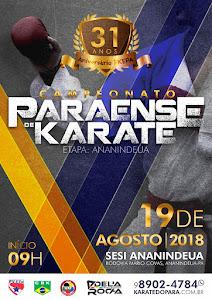 31º Campeonato Paraense de Karate - 2ª Etapa