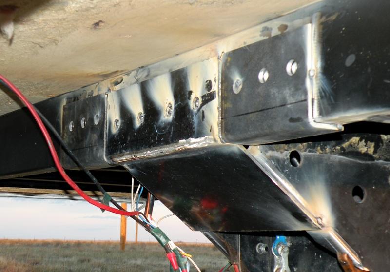 Goin Rv Boondocking Progress Report On The Pin Box Repair