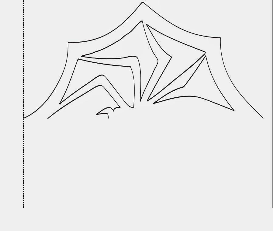 diy nightmare before christmas halloween props jack skellington 39 s spider snowflake tutotial. Black Bedroom Furniture Sets. Home Design Ideas
