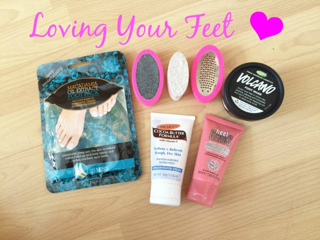Loving your feet lush soap and glory Primark