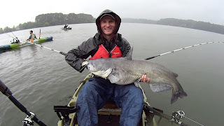 Kayak Catfishing with River Certified and Tactical Kayak Angler