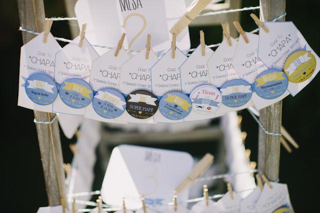 Chapas en tu boda: cómo, cuándo y dónde. Plantilla descargable gratuita.