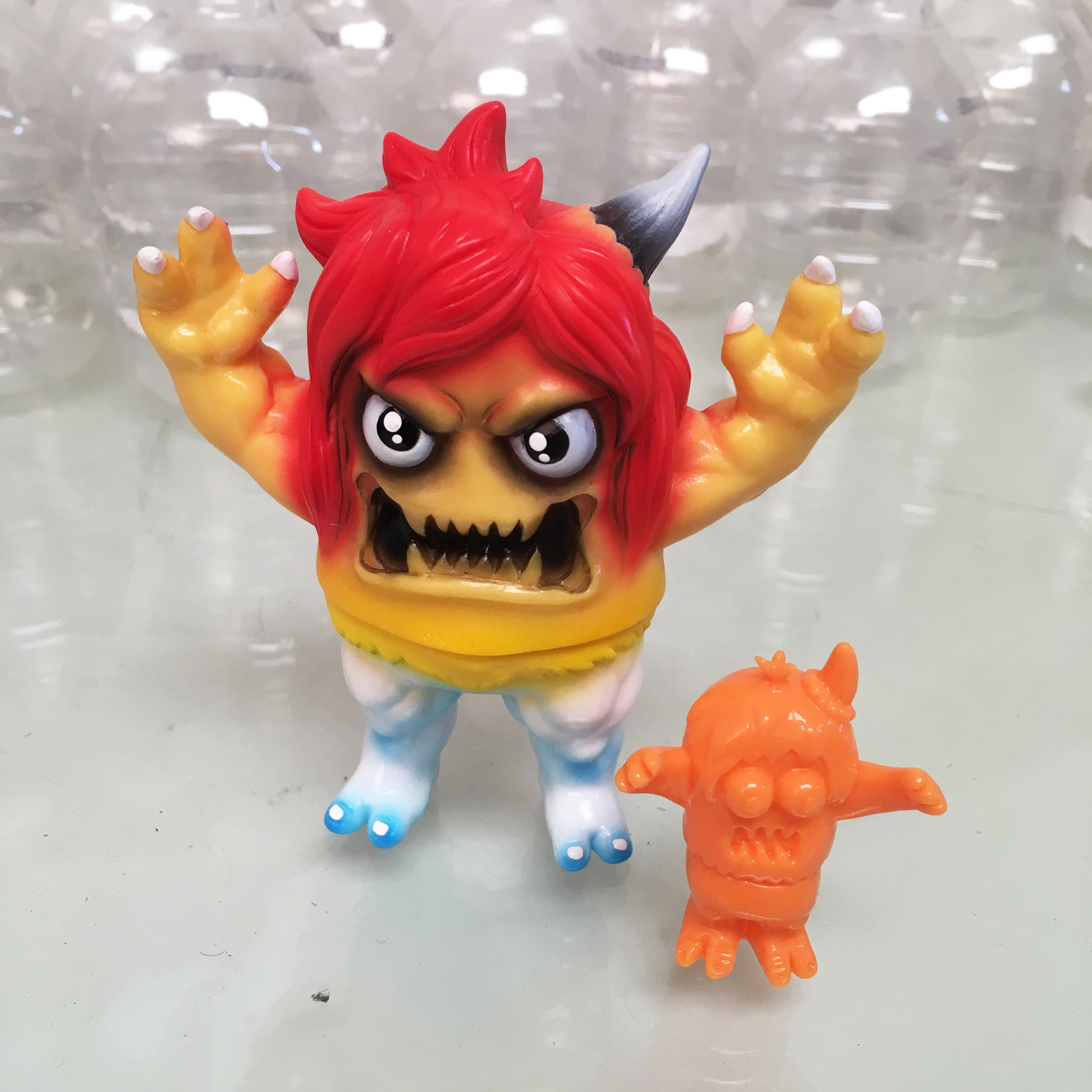 Toys For Work : Rampage toys and art