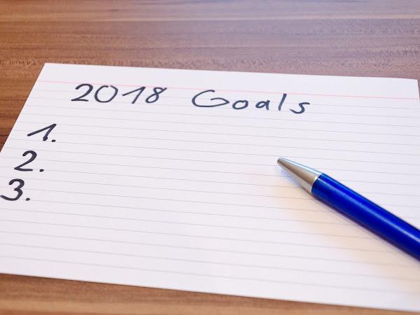 Objectifs 2018 (de maman) !