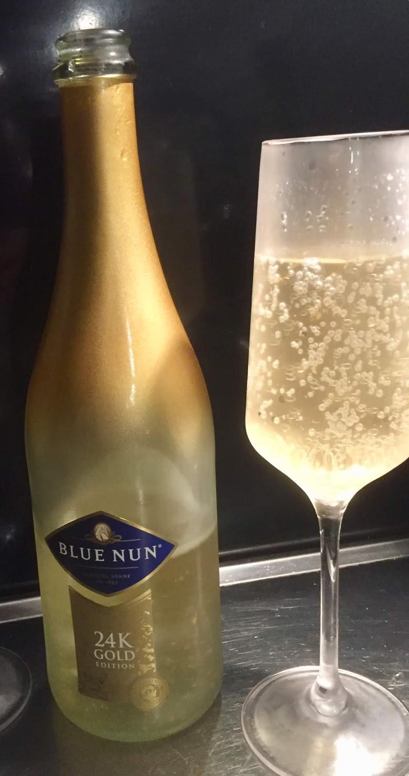 Njut av champagne tappa kilon pa kopet