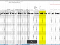Program Aplikasi Excel Untuk Menstandarkan Nilai Peserta Didik