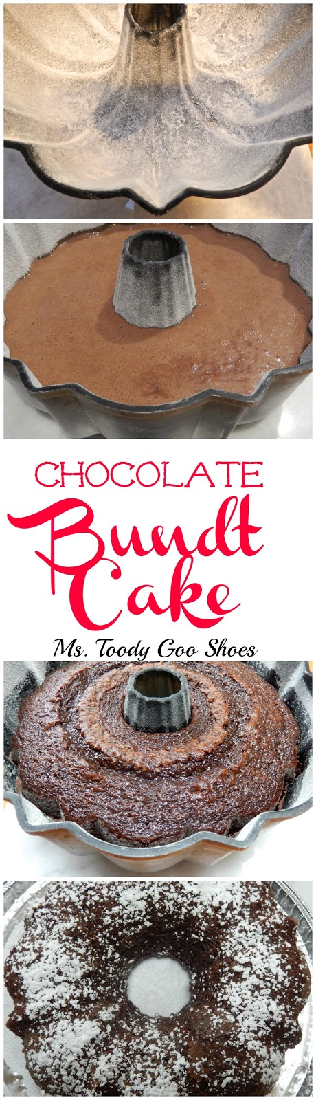 Chocolate Bundt Cake: Rich, dense and moist...so delicious!  -- Ms. Toody Goo Shoes