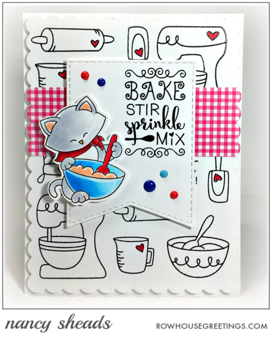 Bake, Stir, Sprinkle, Mix by Nancy features Made from Scratch and Newton's Kitchen by Newton's Nook Designs; #newtonsnook