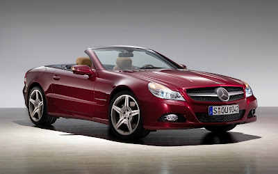 mercedes benz sl widescreen hd wallpaper