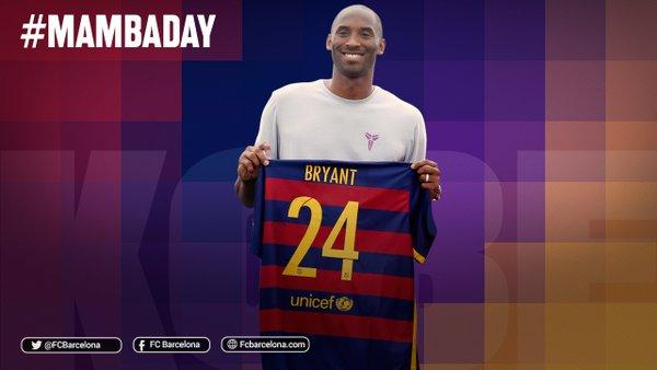 El Barça también rinde homenaje a Kobe Bryant