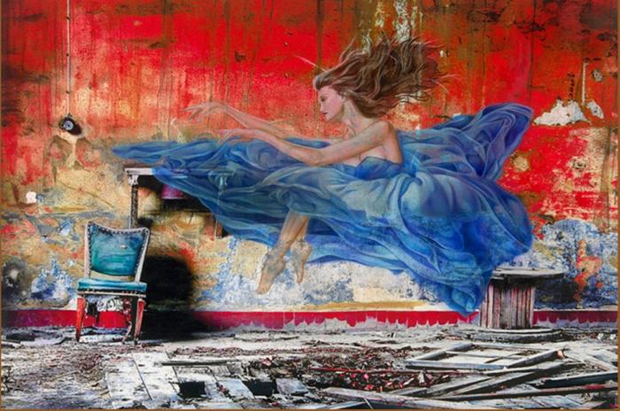 Adam Scott Rote | pintor hiperrealista americana | leyendas de Hollywood