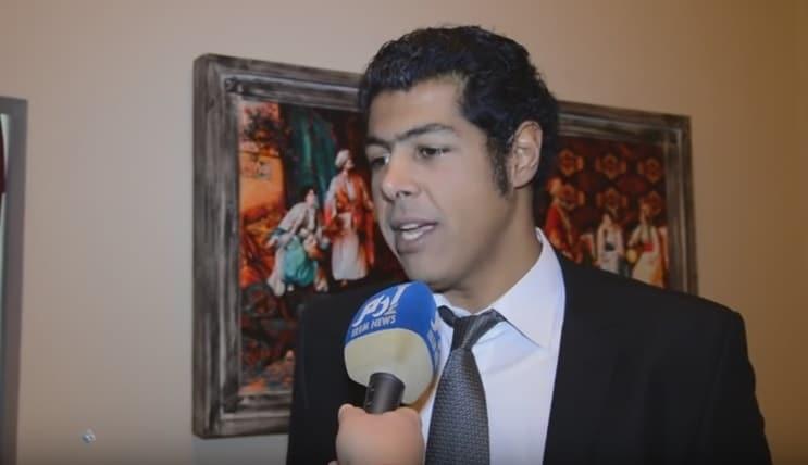بالصور: الفنان الشاب عمر متولي يعلن عن وفاة صديقه ونجل أحد مشاهير الفنانين ويطلب من متابعيه الدعاء له