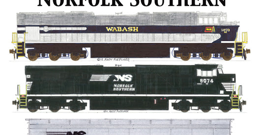 A Norfolk Southern Grain Train at Decatur, Illinois