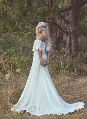 Vestidos de novia Hippies