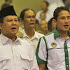 Pilpres 2019: Pilihan Prabowo Jatuh ke Sandiaga Uno