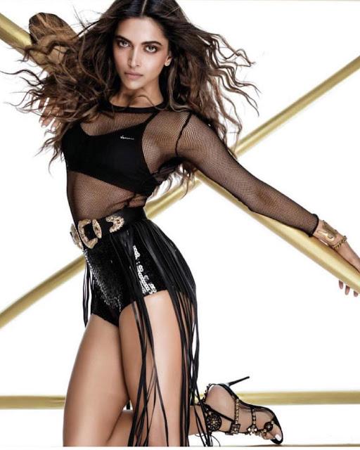 Deepika Padukone Hot Scans From Femina India AUG 2017