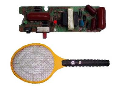 Mosquito Racket Repairing Diagram (Made By China) ~ My Useful Collection