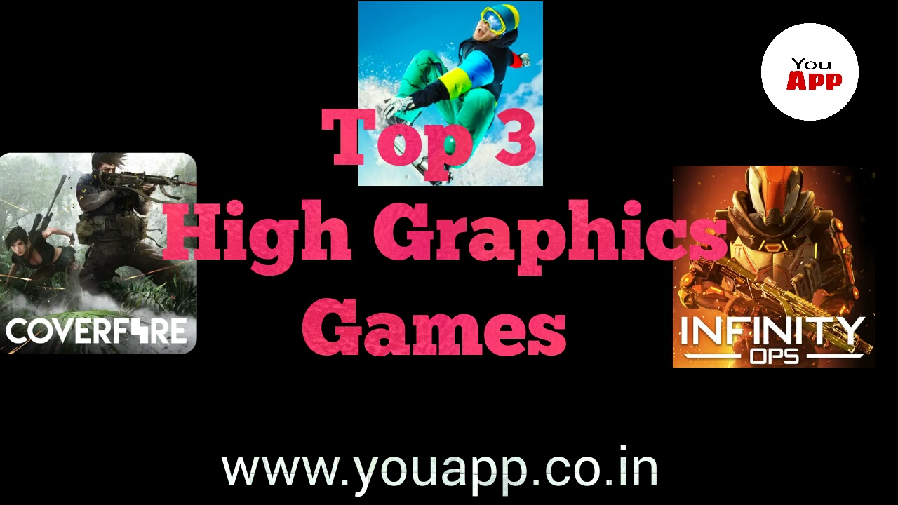 Top 3 High Graphics Games YouApp - YouApp is a online tech site