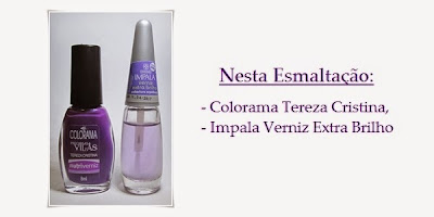 Esmalte Colorama Preciosas Vilãs Tereza Cristina