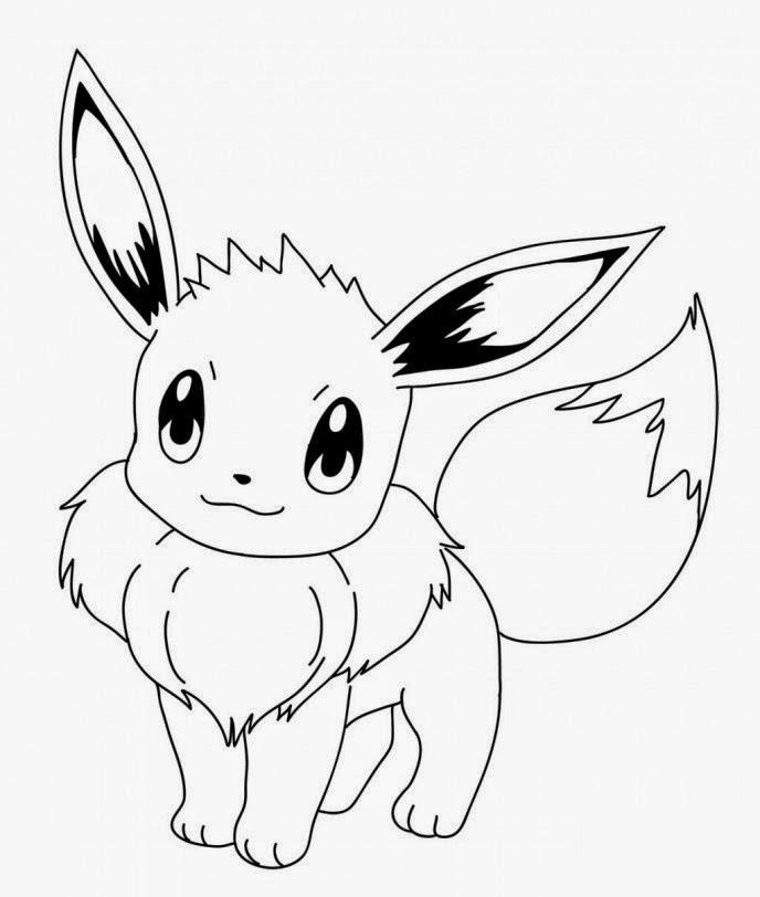 Como Desenhar 10 Como Desenhar O Eevee Pokemom