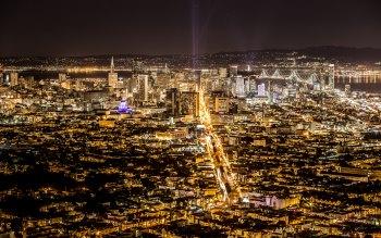 Wallpaper: Panorama City USA San Francisco