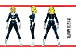 Chica Invisible Superheroina