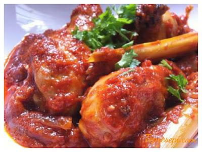 Resepi Ayam Masak Merah Yang Simple
