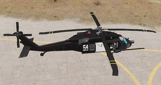 Arma3用160th SOAR MODのMH-60 Blackhawk