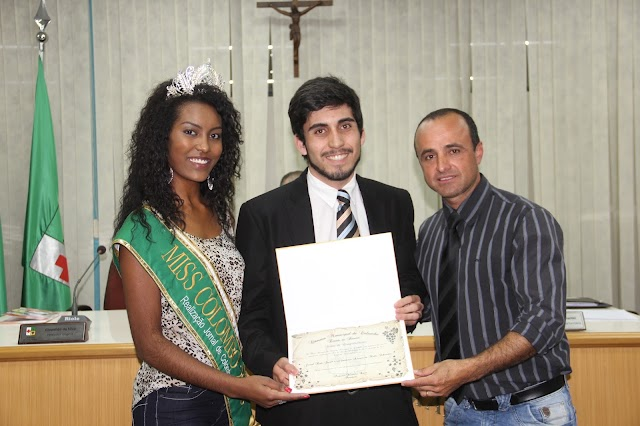 Jornal Rede Jovem recebe homenagem dos vereadores de Colombo-Pr