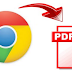Simple Trick To Convert A Webpage To PDF File
