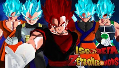 download DragonBall Tenkaichi Tag Team Mod Super ISO Beta V1 Zetronix Mods PSP