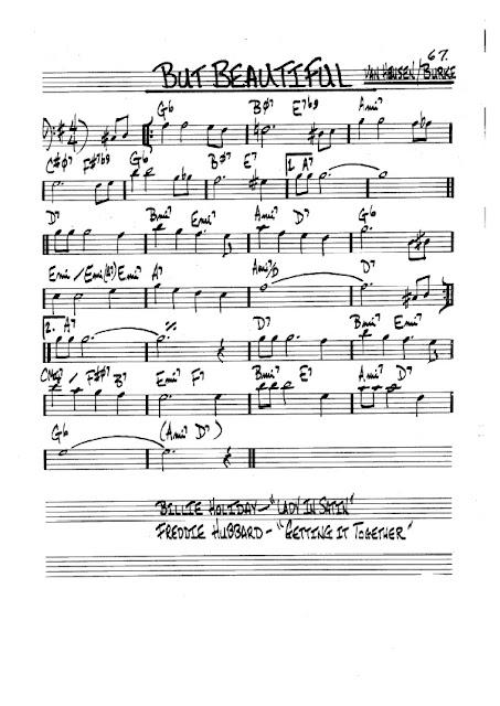 Partitura Trombón Van Heusen and Burke