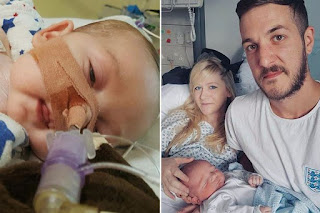 Charlie Gard with Family