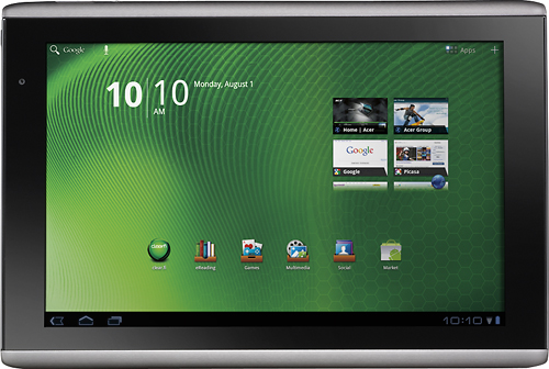 Acer Iconia Tab A500 receives software update