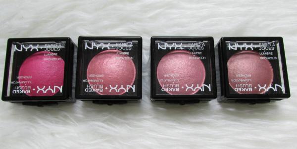 NYX Cosmetics Baked Blushes - Illuminator & Bronzer - 6.5 g - ca. 9 Euro