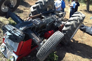 Τραγικό θάνατο βρήκε 55χρονος από τρακτέρ στο Μουζάκι