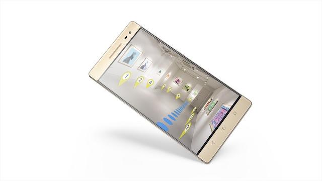 Smartphone Project Tango pertama didunia Lenovo Phab 2 Pro resmi rilis