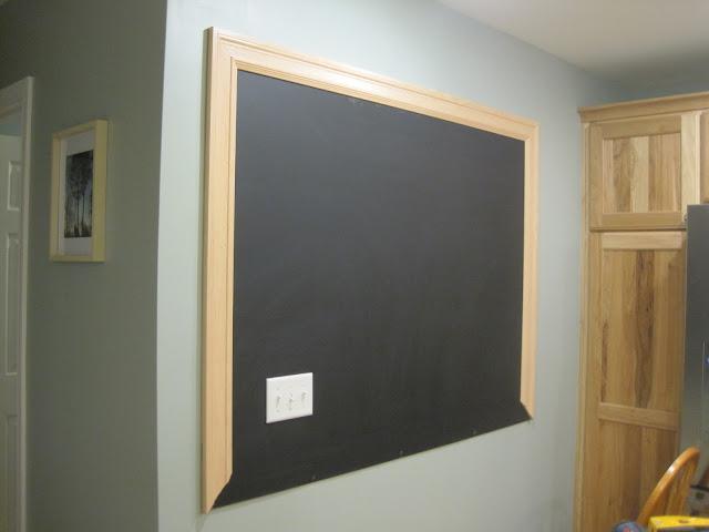 building on love: DIY chalkboard