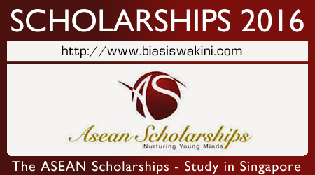 The ASEAN Scholarships 2016 - Studying in Singapore