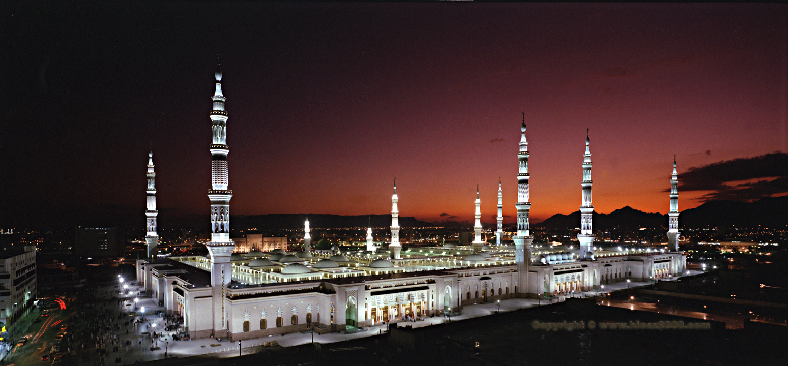 Islamic Amazing Pictures, Masjid-e-Nabvi: Pictures Of