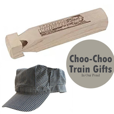 Choo-Choo Train Gifts from In Our Pond  #giftguide  #christmas  #holidays  #playtrains  #birthday
