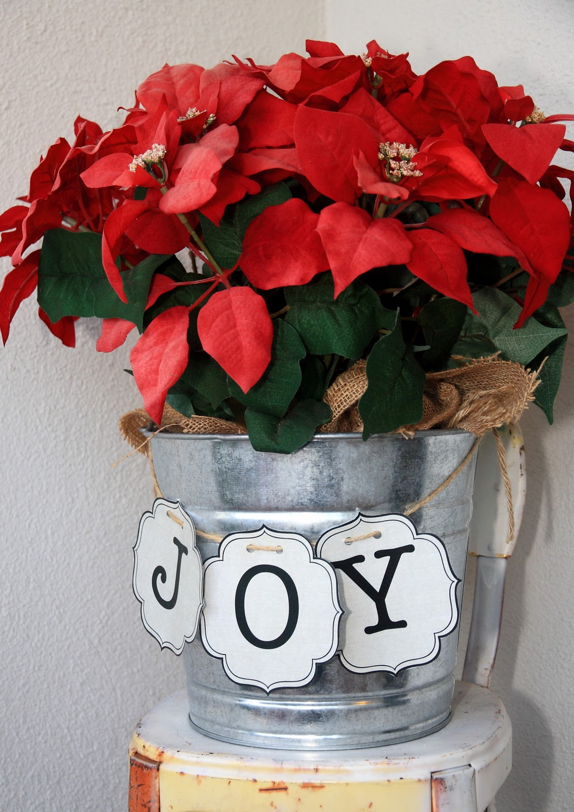 The Joy Banner Amp A Giveaway 12 Days Of Christmas Printables 1